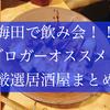 【梅田で飲み会】ブロガーおすすめ厳選居酒屋 16選