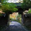 京都 紅葉100シリーズ 隠れ紅葉の赤山禅院 NO.66
