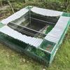 【DIY】亀の池を作り直す