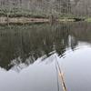 栃木県宇都宮市からブログを見てヘラブナ釣りに来てくれました。(2021富沢の池2)