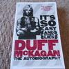 ガンズ・アンド・ローゼズのベーシスト、ダフ・マッケイガンの自伝本を購入(Duff Mckagan's Autobiography)