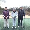 今日は今年初めてのゴルフでした~♪