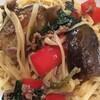 甘辛挽き肉となすのパスタ~幸せを作る~