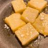 栗ご飯→バター餅