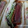 【京都】一度は食べてみたい!「はふう」の肉厚カツサンド。