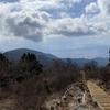塔ノ岳~三ノ塔 大倉尾根から登り三ノ塔尾根を下る 2021.2.14
