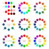 【配色】色相環のH値をいろいろ測ってみた(HSB、マンセル、オストワルト、PCCS、Web配色ツール)