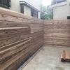 【家を建てよう】庭にウッドフェンスを設けてプライベートスペースに