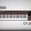 Casiotone CT-S200のPVと初代カシオトーンCT-201が変えた電子楽器業界