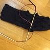 「編みもの修学旅行」よりラヴァーズ・ケーブルのミトンを編み始めました。ノバメタルのレビュー