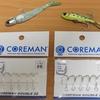 コアマンRJ-7,RJ-10純正フックは「CD22 #6」BC-26純正フックとは大きさが違います!