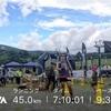 2018 美ヶ原トレイル45kに参加してきました。