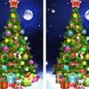 間違い探しクイズ35!・・・クリスマスツリー