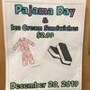 Pajama Dayとアイスクリームday