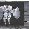 【3Dモデル】デザインに悩んだストレスで4000kcalくらい食べた日