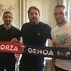 公式発表: ピアツァがジェノアに期限付き移籍