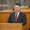 吉田英策県議の一般質問。知事は原発ゼロを国に求めるべき