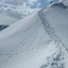 3月末、積雪期限定の山へ。