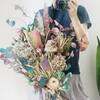 紫陽花ミックス!おしゃれなドライフラワーをたくさん束ねた大きな花束