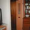 一枚ドアが広過ぎて開かない場合には二枚折り戸の参考事例