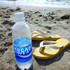 野積海岸へ海水浴