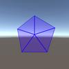 【Unity】uGUI におけるレーダーチャートの実装例を見ることができる「PolygonalUI」紹介