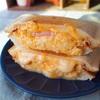 【レシピ】卵とハムのとろーりチーズホットサンド