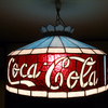 Coca-Cola Tiffany Hanging Lamp #3