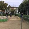 春日町公園の清掃ボランティアとシープファーム