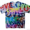 まっすぐに愛を贈ろう。シンプルな「愛」Tシャツ