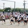 チャレンジ運動会⑦ 4年生徒競走