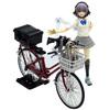 【リトルアーモリー】1/12『通学自転車(指定防衛校用)』ミニカー【トミーテック】より2020年10月発売予定♪