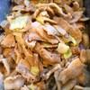 豚バラとキャベツの生姜焼き