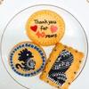 アーティストなご夫妻の40周年にお菓子を作らせていただきました!