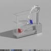 Blender 179日目。「流体シミュレーション」その1「水路オブジェの制作」。