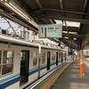 西新井駅から大師線に乗って大師前駅へ