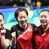 卓球女子団体、ニッポン「銅」 2大会連続メダル