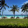 ホテルのビーチとアロナビーチ