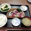 西川口の「あおき食堂」でわかし刺身定食を食べました★