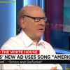 """本日のサイモンとガーファンクル/Art Garfunkel on Sanders ad using """"America"""""""