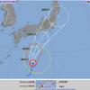 最新 台風12号予想進路動画と関東地方への影響 24日25日の天気
