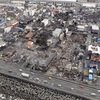 糸魚川大火、156棟焼損…30時間で鎮火