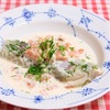 鱈のクリームソース