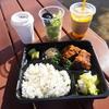 【コンコースカフェ】ドリンク・サラダ・スープ付きランチ💛テイクアウト弁当でワンコとピクニkック☆