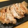 【虎ノ門】北新地からやってきた「スタンドシャン食」でシャンパン&餃子