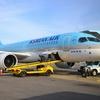 大韓航空CシリーズCS300、韓国国内線に就航中【ソウル(金浦)=ウルサン(蔚山) 搭乗記】