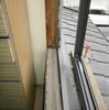 サッシ取付1(古い木製建具の交換02)