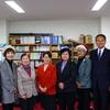 埼玉県議団が福島県の現況調査で来福し懇談