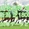 【福島牝馬S 2021】過去10年データと予想