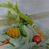 2016年: 7月『夏のイメージ - 夏野菜』